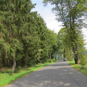 Parkplatz B410 zwischen Daun und Kelberg